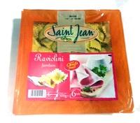 Raviolini aux Œufs Frais Jambon - Produit