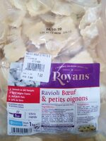 Ravioli boeuf et petits oignons royans - Product - fr