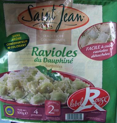 Ravioles du Dauphiné AOP label Rouge - surgelées - Produit