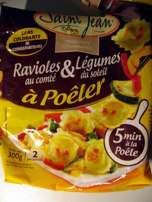 A comté du soleil - Ravioles  & Légumes - Produit - fr
