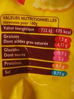 A comté du soleil - Ravioles  & Légumes - Informations nutritionnelles - fr