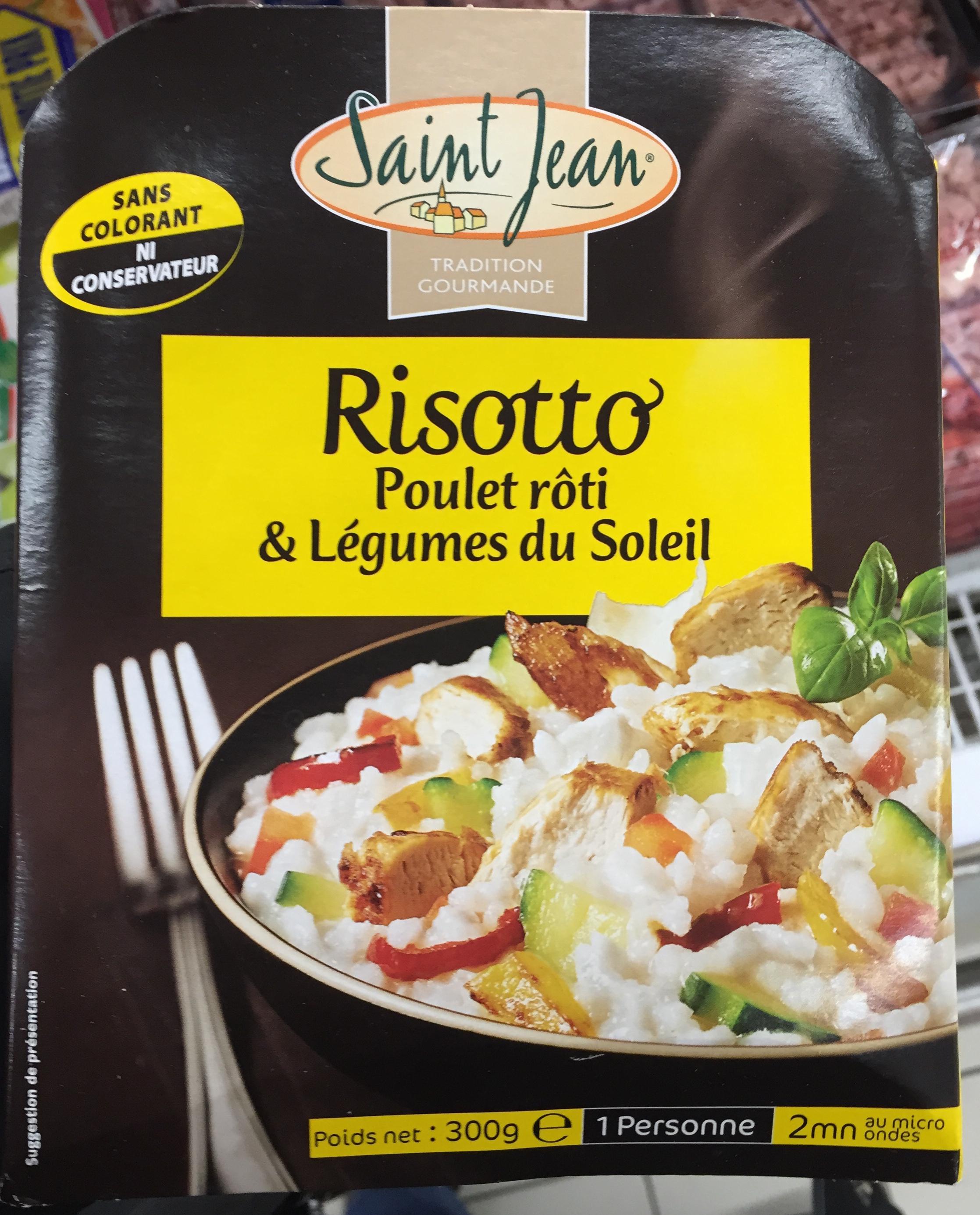 Risotto Poulet rôti & Légumes du soleil - Produit