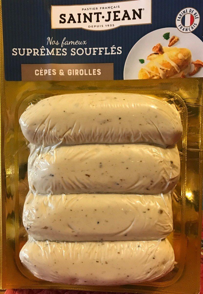 Suprêmes soufflés cèpes girolles - Produit