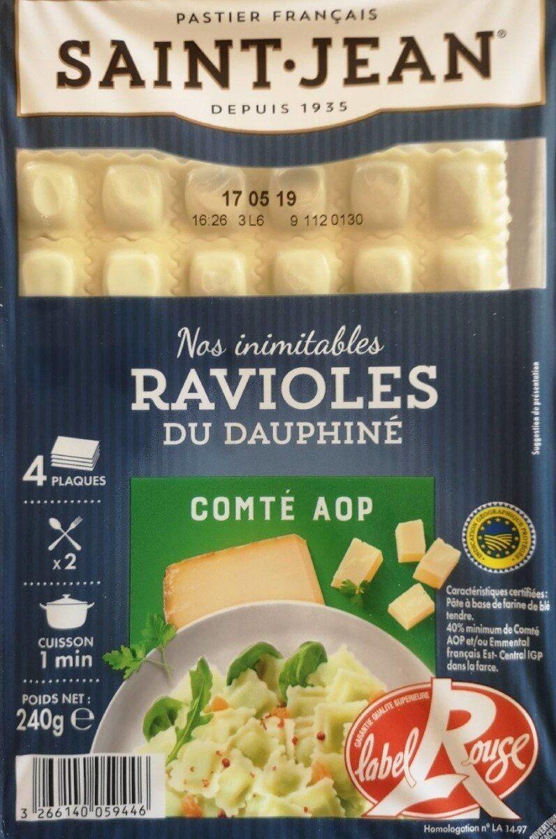 Ravioles du Dauphiné au comté - Produit - fr