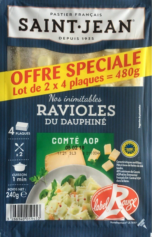 Ravioles du Dauphiné Comté AOP - Produit