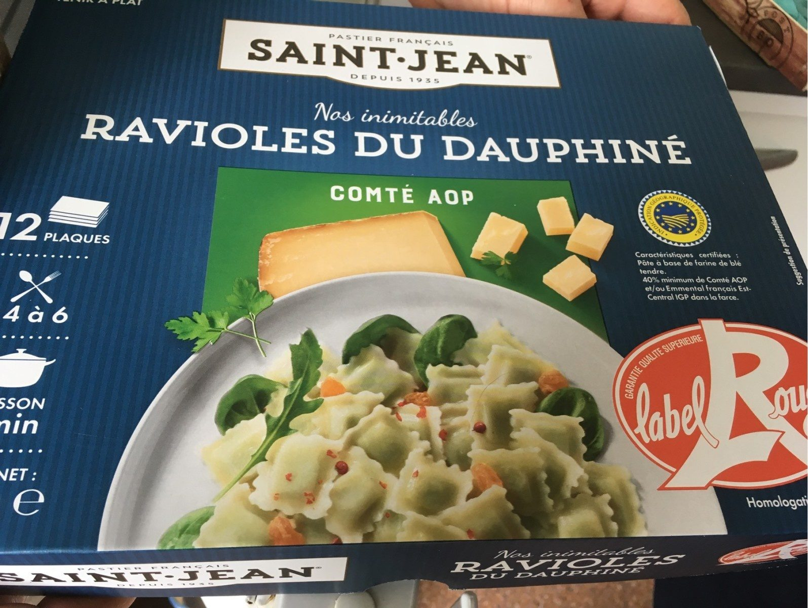 Ravioles du dauphine - Produit