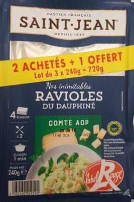 Ravioles du Dauphiné au Comté AOP - Produit