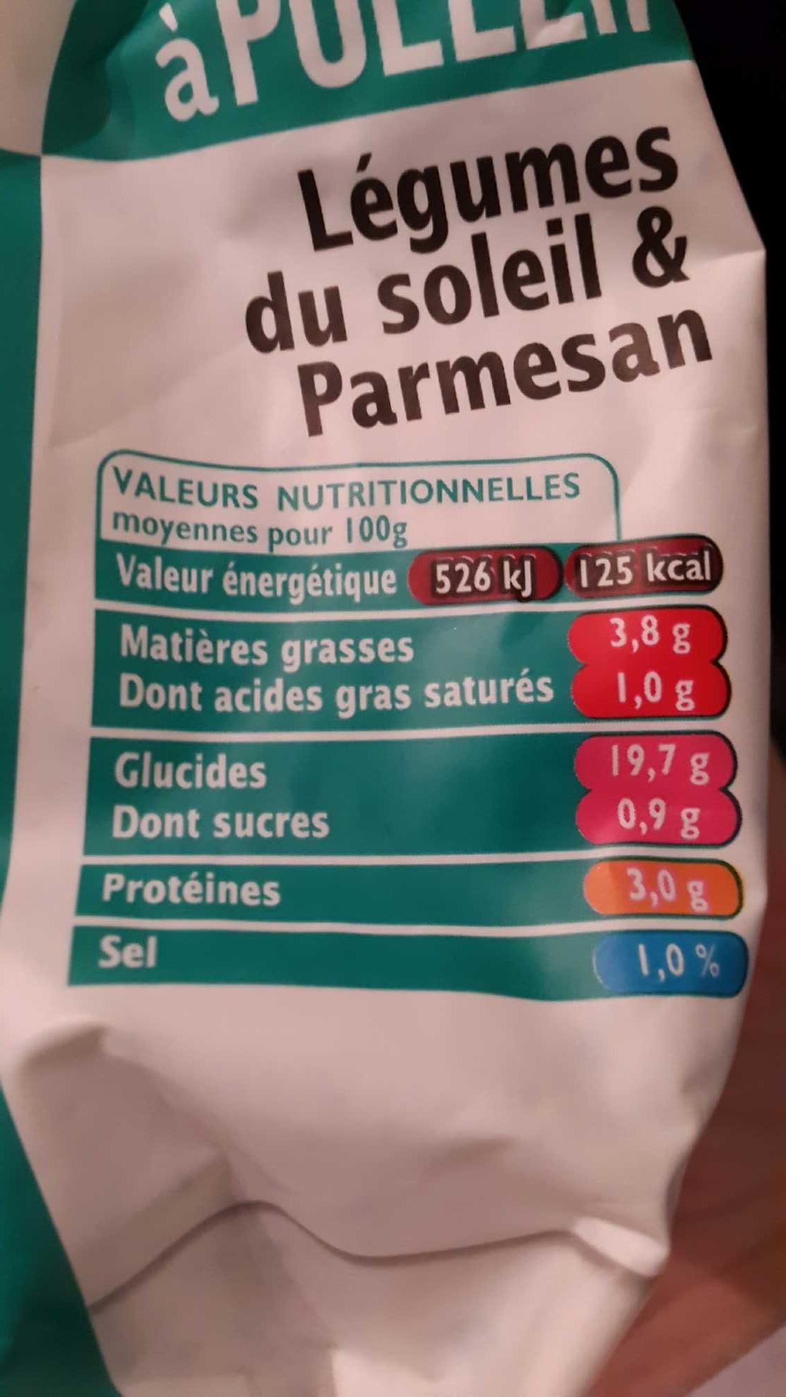 Riz à pôeler légumes soleil parmesan SAINT JEAN, 300G - Product