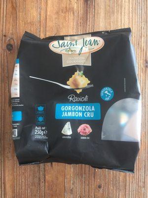 Ravioli gorgonzola &  jambon cru  SAINT-JEAN - Produit - nl