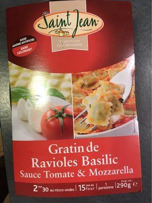 Gratin de ravioles basilic - Produit
