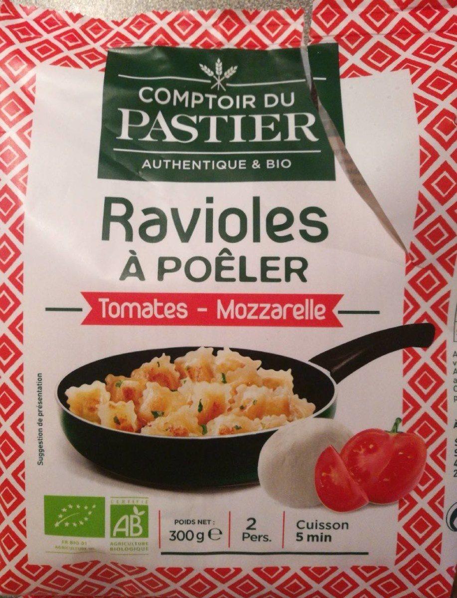 Ravioles à poêler - Tomate - Mozzarelle - Produit - fr