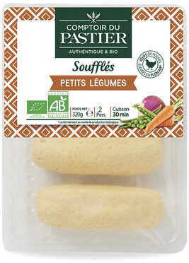 Soufflés petits légumes - Recycling instructions and/or packaging information - fr