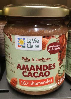 Pâte à Tartiner Amandes Cacao - Product