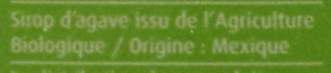 Sirop d'Agave - Ingrediënten
