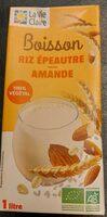 Boisson riz épeautre amande - Product - fr