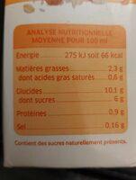 Boisson riz épeautre amande - Nutrition facts - fr
