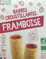 Barres croustillantes framboise - Product