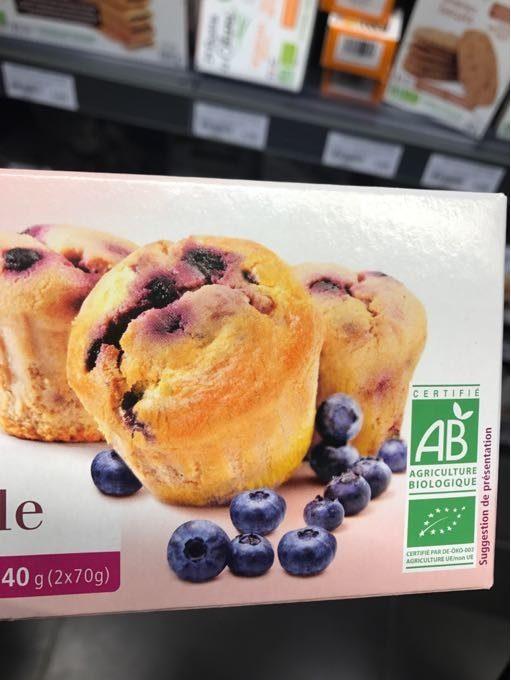 Muffins A La Myrtille - Produit