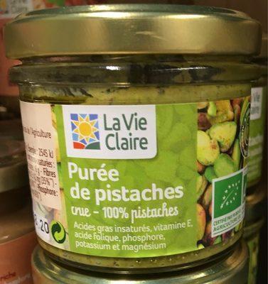 Purée de pistaches crue - Product - fr