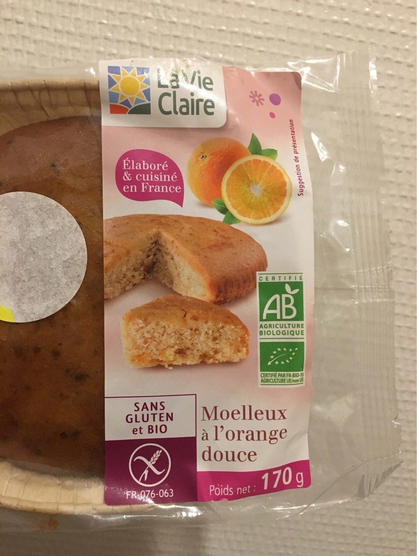 Moelleux a l'orange douce - Product