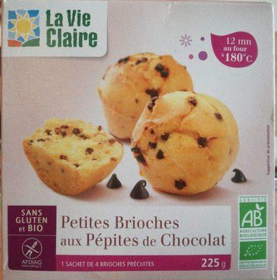 Petites brioches aux pépites de chocolat - Produit - fr