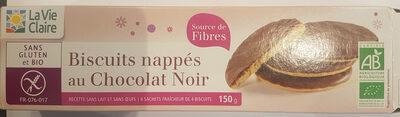 Biscuits Nappés Au Chocolat Noir 150g Sans Gluten - Product