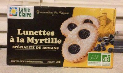 Lunettes à la Myrtille - Produit