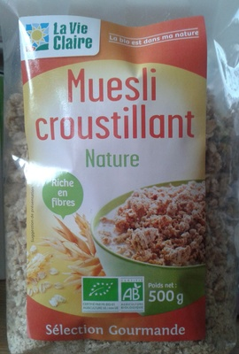 Muesli croustillant Nature - Product - fr