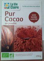 Pur Cacao en Poudre - Produit