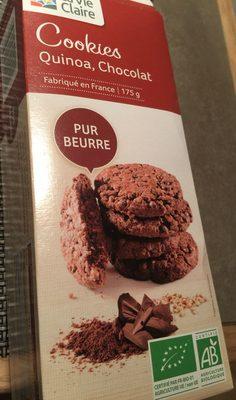 Cookies quinoa chocolat - Product - fr