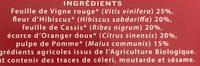 Infusion Bien Etre Circulation - Ingrediënten - fr
