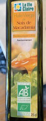 Huile vierge macadamia - Product - fr