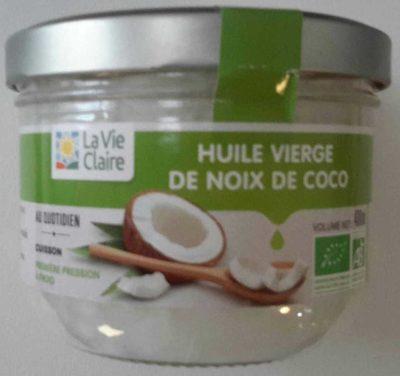 Huile vierge de noix de coco - Product