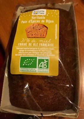 Véritable pain d'épices de Dijon - Product