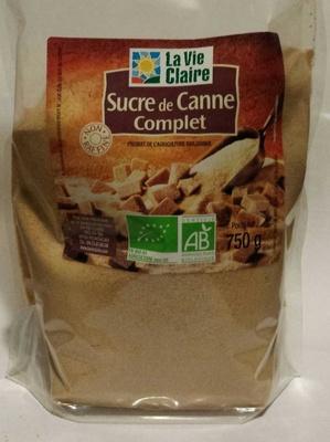 Sucre de canne Complet - Product - fr