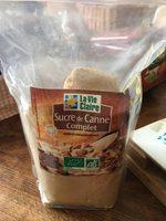 Sucre de canne Complet - Ingredients - fr