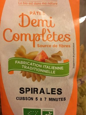 Pates spirales demi-complete - Product