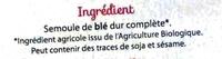 Coquillettes Complètes - Ingrédients - fr