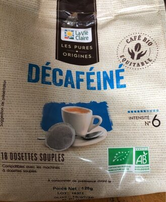DECAFEINE dosettes souples - Produit - fr