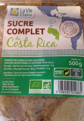 Sucre complet du costa rica - Product