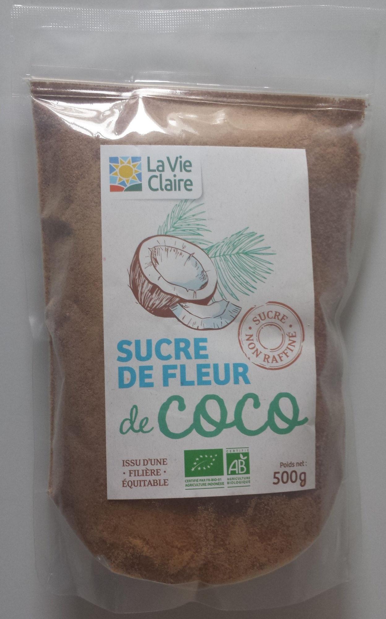 Sucre De Fleur De Coco Non Raffine La Vie Claire 500 G