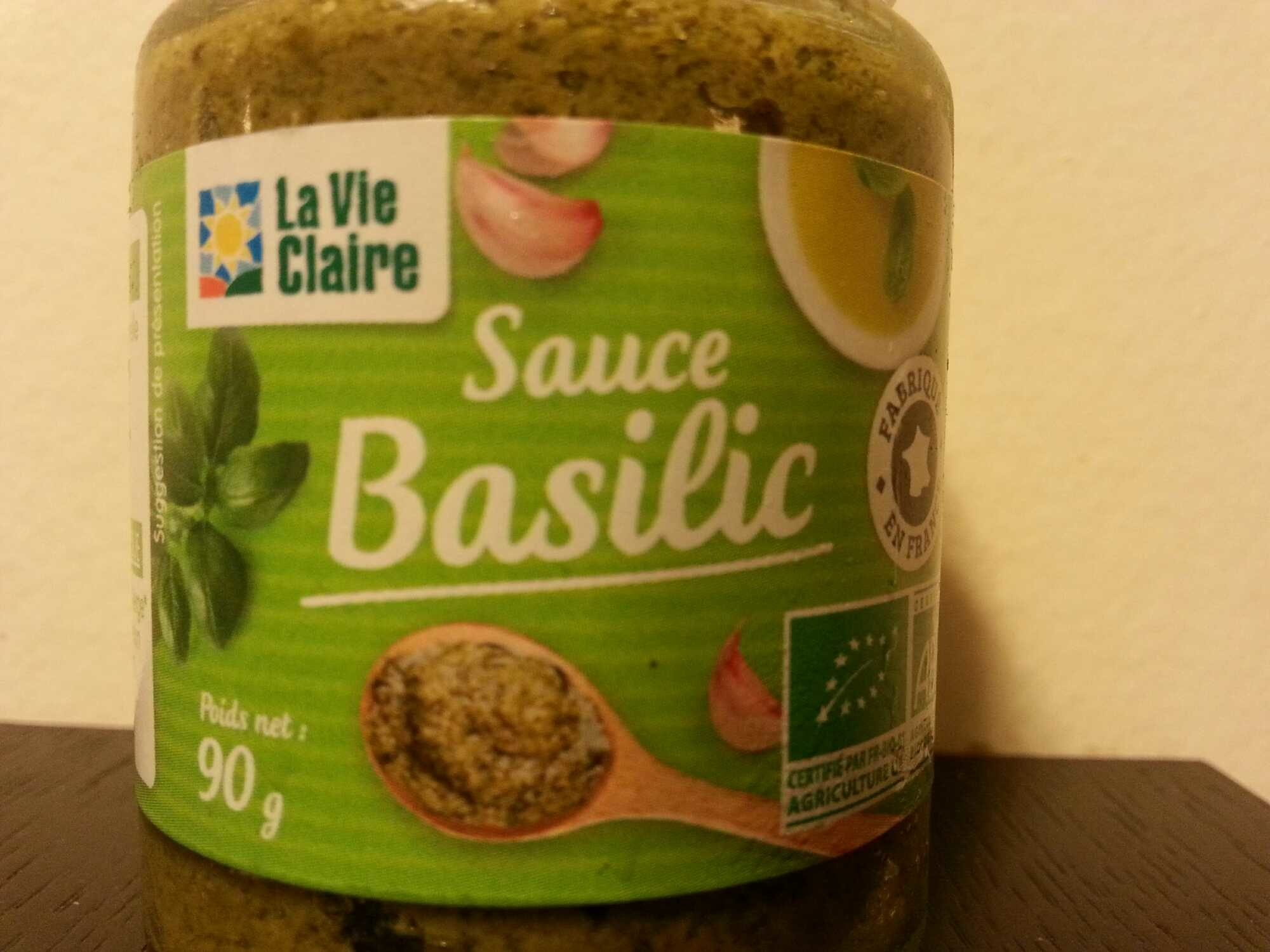 Sauce Basilic - Produit