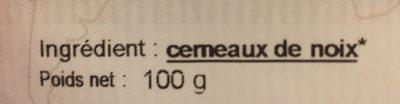 Cerneaux de noix - Ingrediënten