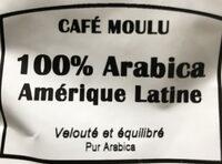 Le monde du café - Ingredients - fr