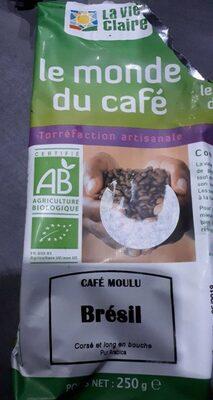 Café moulu Brésil - Produit - fr