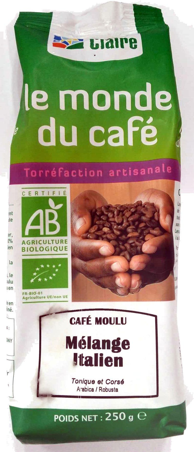 Café Moulu Mélange Italien - Product - fr