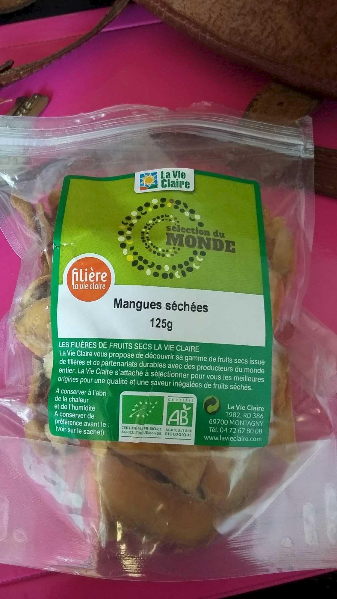Mangues Séchées - Produit - fr
