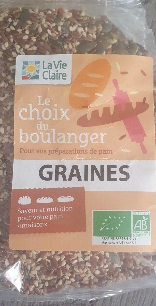 Graines le choix du boulanger - Prodotto - fr