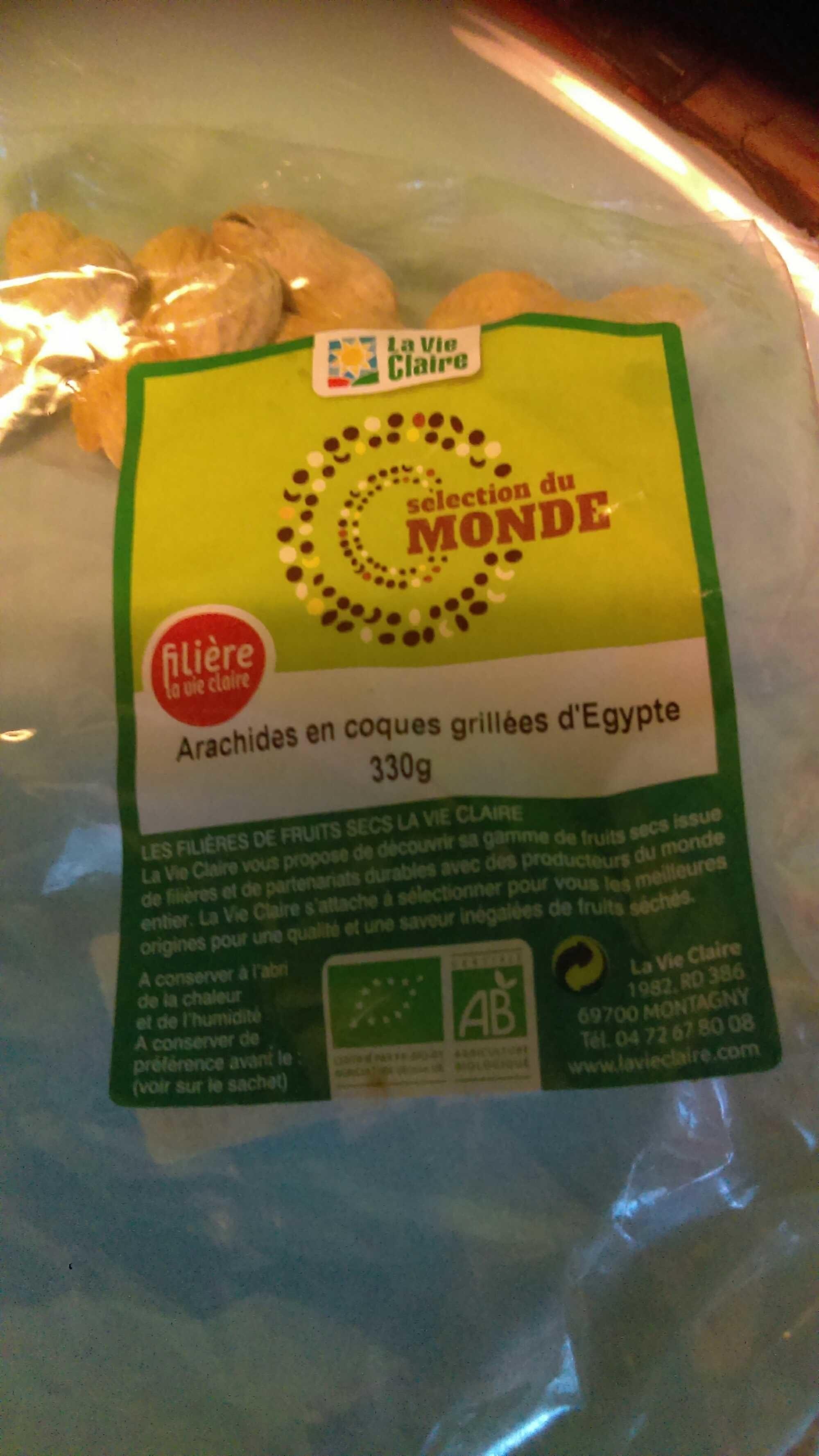 Arachides en Coques Grillées D'Egypte 330g - Product