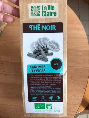 Thé noir agrumes et épices - Product